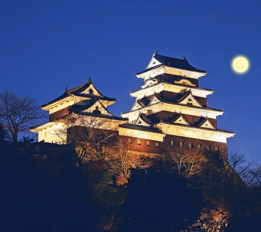 Ozu Castle Town